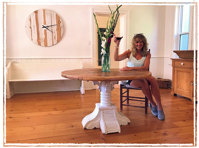 pine crest admire office table 4. Today, Al Picked Up The Finished Dining Table And, When They Got It Set Up,  Melissa Showed Everyone How To Use It. Pine Crest Admire Office 4